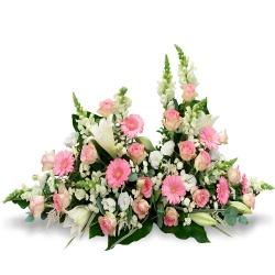 Les fleurs deuil Devant de tombe Tumbos - 123fleurs