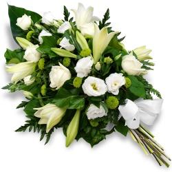Fleurs Deuil DOM-TOM Gerbe de fleurs Souvenir éternel - 123fleurs