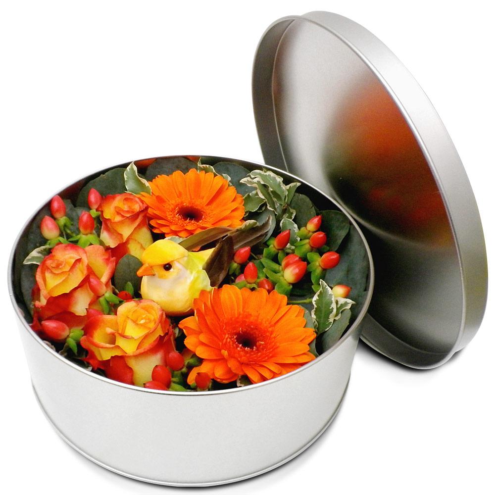 Original fleurs fraiches en boite jardin chantant for Fleurs fraiches