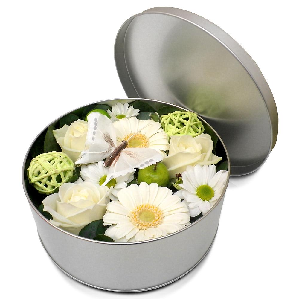 123fleurs page 19 for Bouquet de fleurs dans une boite