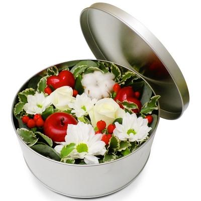 Original fleurs fraiches en boite jardin d licieux for Bouquet de fleurs dans une boite