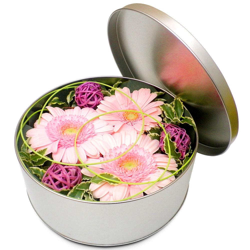 Original fleurs fraiches en boite jardin mirabelle for Fleurs fraiches