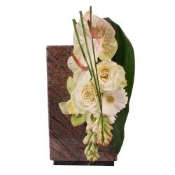 Les fleurs deuil Parure de niche funéraire Nénia - 123fleurs