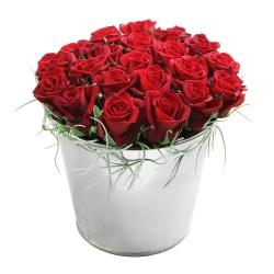 Les roses du fleuriste Pot aux roses - 123fleurs