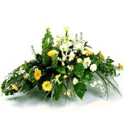 Les fleurs deuil Raquette Breuil - 123fleurs
