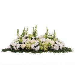 Les fleurs deuil Raquette de fleurs Cérémonia - 123fleurs