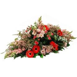 Les fleurs deuil Raquette Paix - 123fleurs