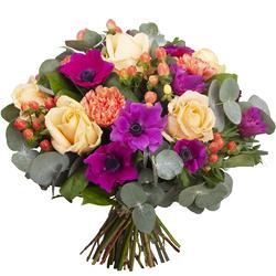 Fleurs Anniversaire Bouquet De Fleurs Anniversaire 123fleurs