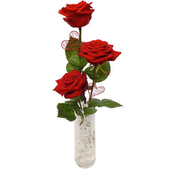 Trio de roses for Livrer une rose